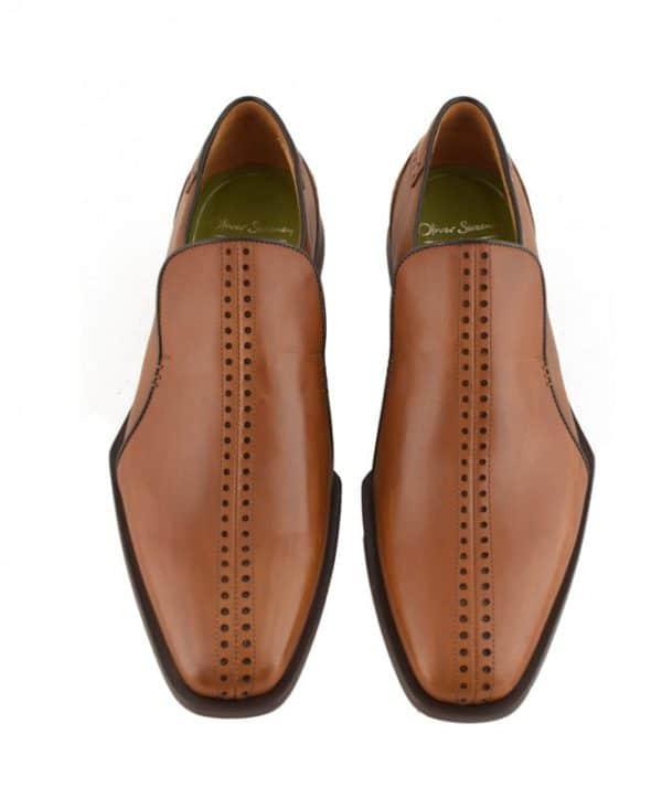 oliver sweeney tan bologna slip on shoes p75543 87163 medium 1