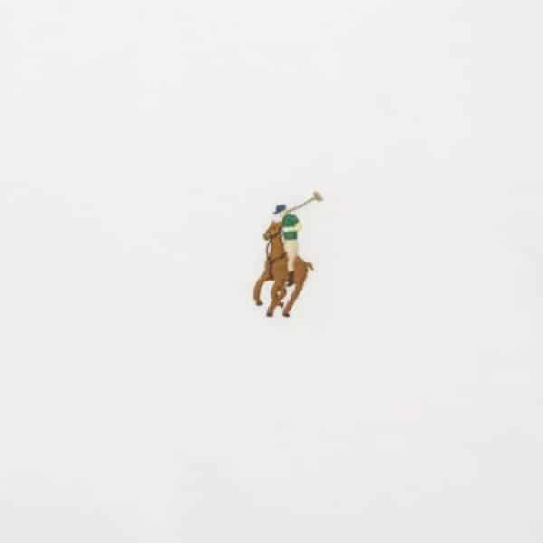 ralph lauren white t shirt pony