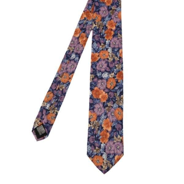 Amanda Christensen tie floral blue main