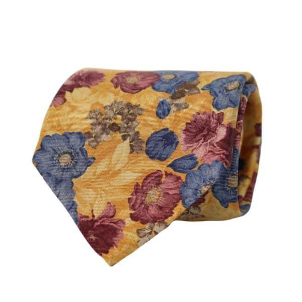 Amanda Christensen tie floral golden