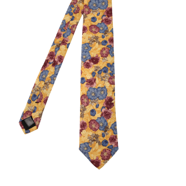 Amanda Christensen tie floral golden main