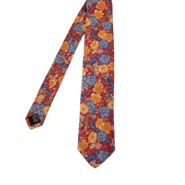 Amanda Christensen tie floral red main
