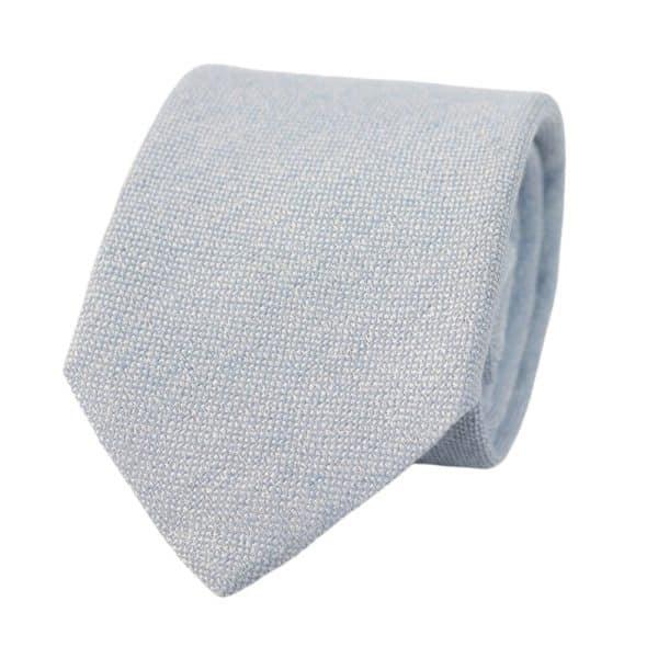Amanda Christensen tie pastel blue
