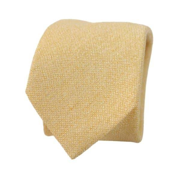 Amanda Christensen tie pastel yellow