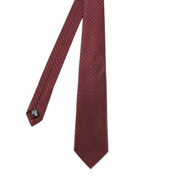 Armani Collezioni Diamond Quilt Tie red main