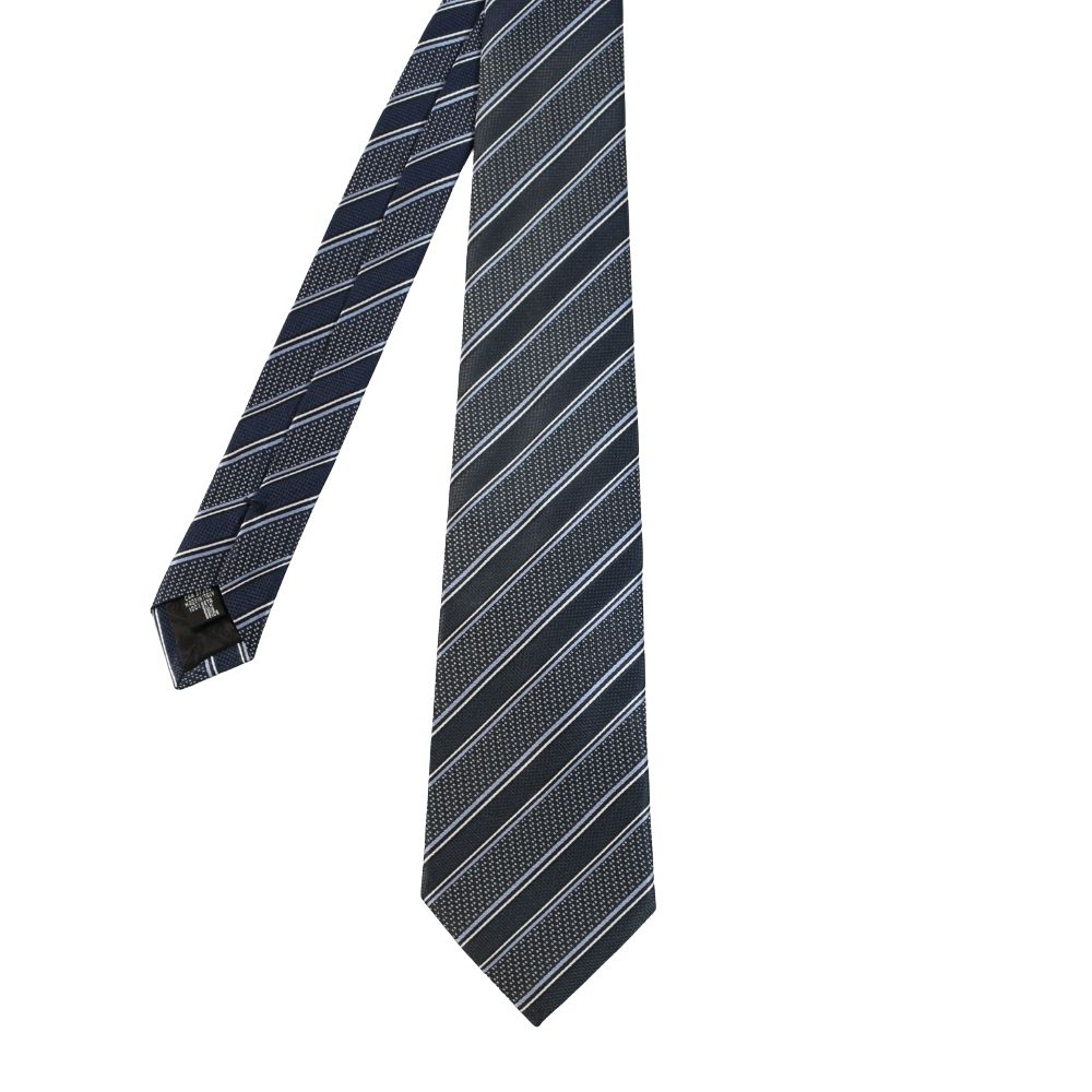 Armani Collezioni Regimental stripe navyblue main