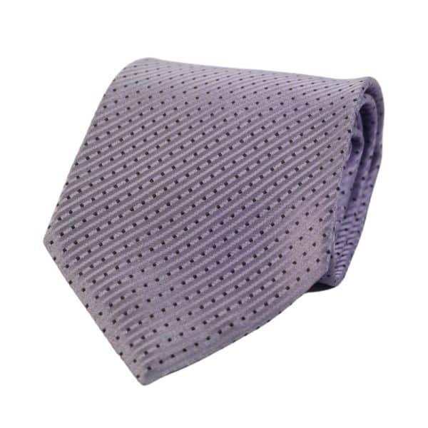 Armani Collezioni Tie diamond stripe lilac