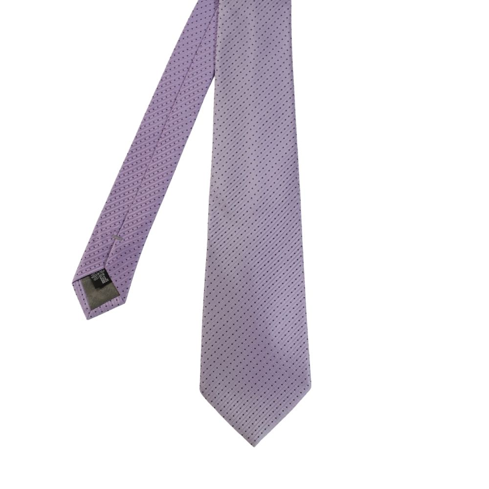 Armani Collezioni Tie diamond stripe lilac main