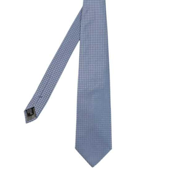 Armani Collezioni diamond knit Tie Light Blue main