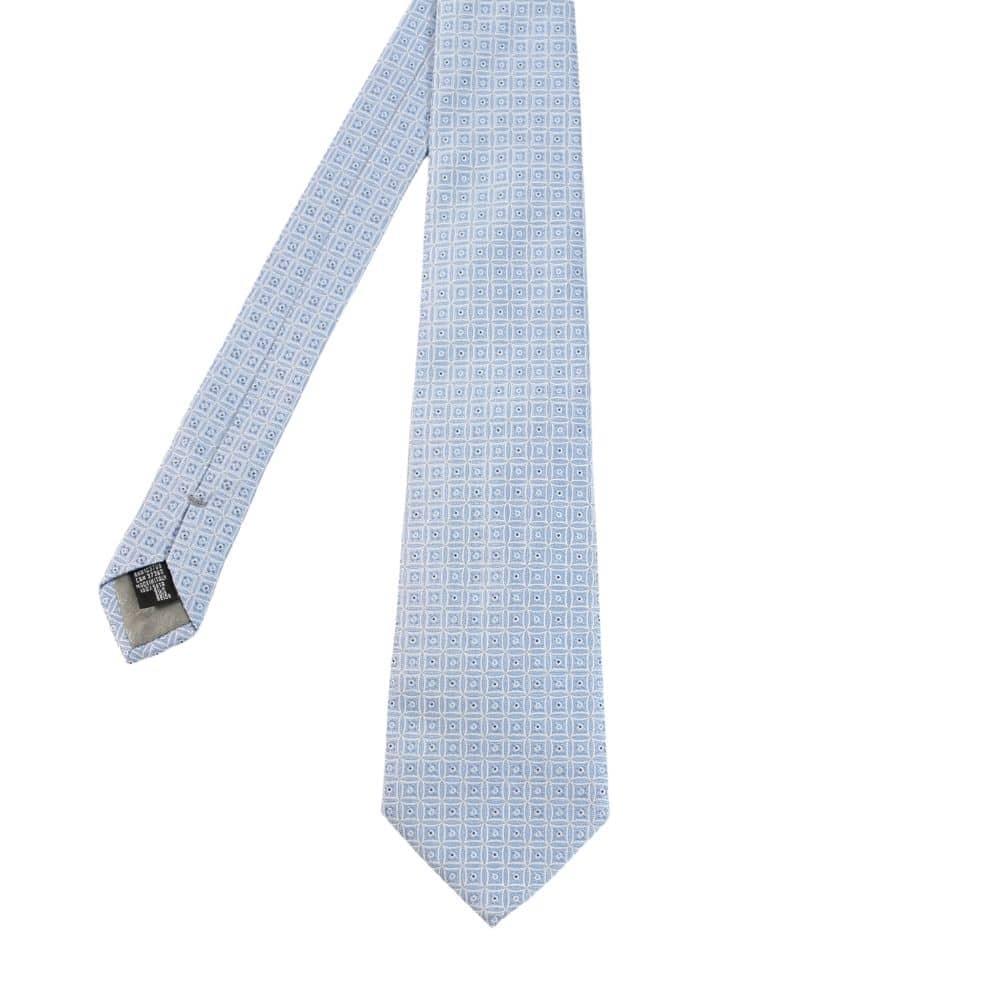 Armani Collezioni squares Tie light blue main