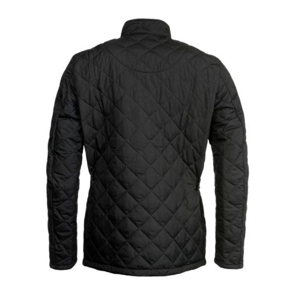 Barbour Chelsea Quilted Navy Back