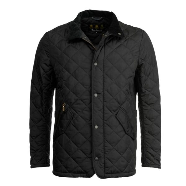 Barbour Chelsea Quilted Navy Front