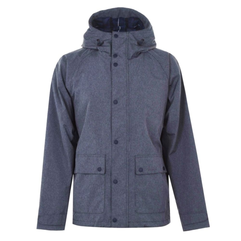 Barbour Pablo Jacket Grey Front