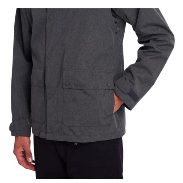 Barbour Pablo Jacket Grey Pocket