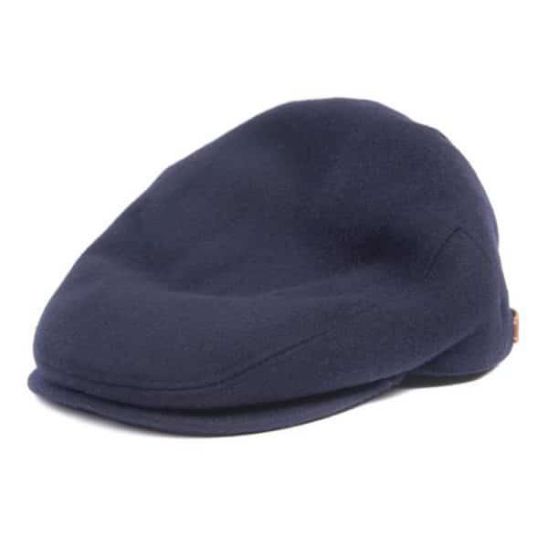Barbour Redshore Navy Falt Cap Left