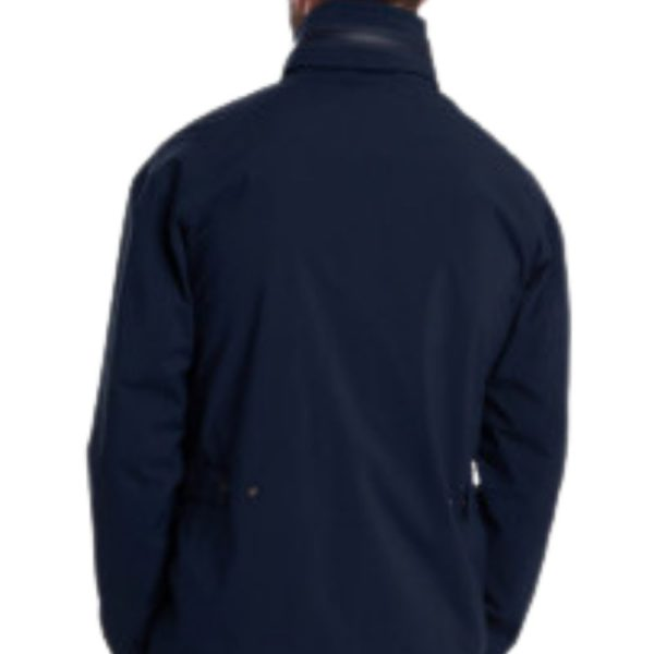 Barbour Sorrel Jacket Navy Back 1