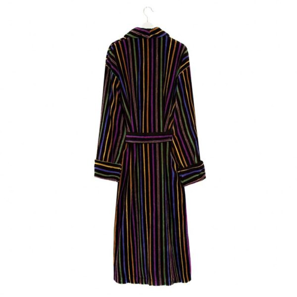 Brown of London Mens Dressing Gown back