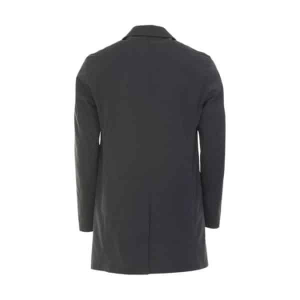 Bugatti Raincoat Navy Back