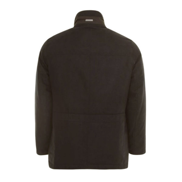 Bugatti Suede Jacket Brown back