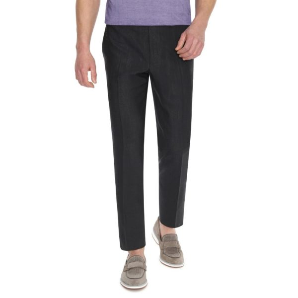 CANALI CHARCOAL TROUSER 1