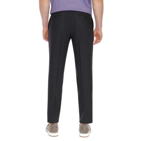 CANALI CHARCOAL TROUSER 2