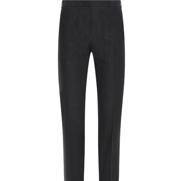 CANALI CHARCOAL TROUSER