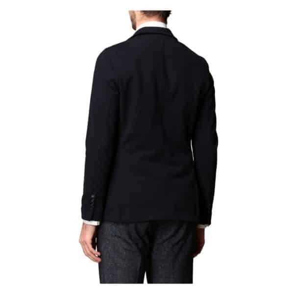 Circolo Denim blue jacket rear
