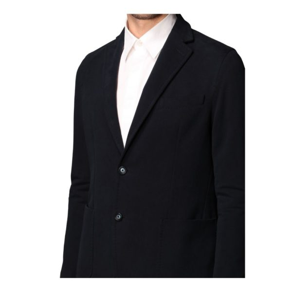 Circolo Denim jacket blue front