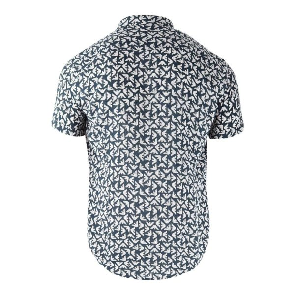 EMPORIO ARMANI SHORT SLEEVE ALL OVER PATTERN 2