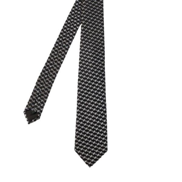 Emporio Armani barbed stripe tie main 1