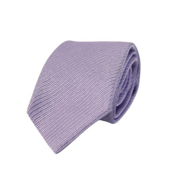 Emporio Armani microstripe lilac 1