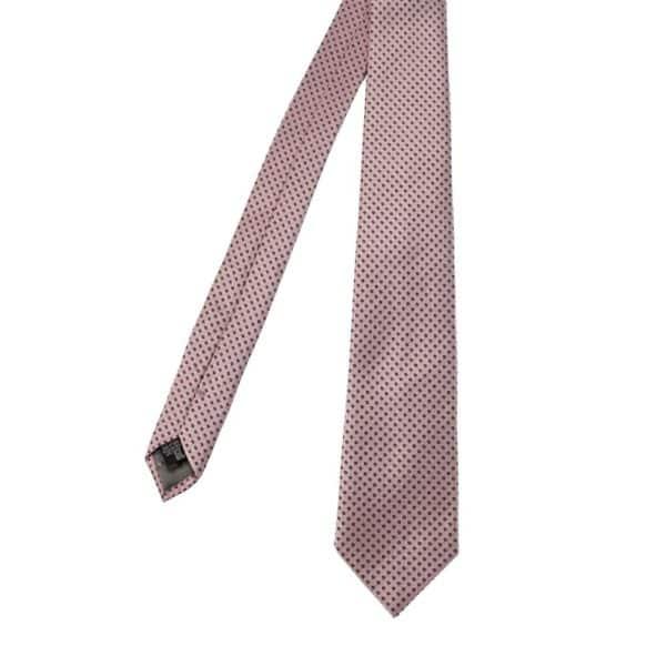 Emporio Armani pink dot tie main