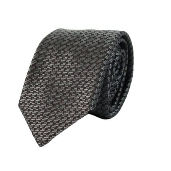 Emporio Armani tie diagonal pattern