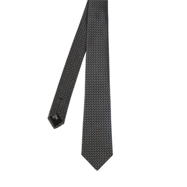 Emporio Armani tie diagonal pattern main
