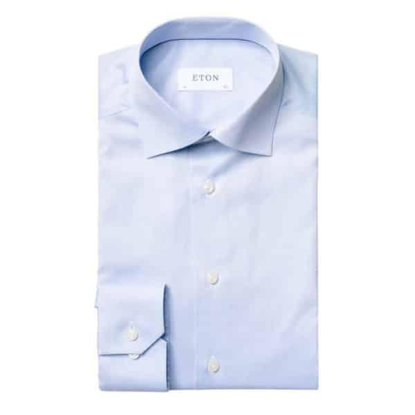 Eton Shirt light blue 1signature twill