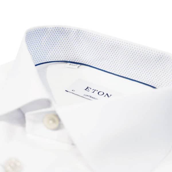 Eton Shirt micro print collar details white