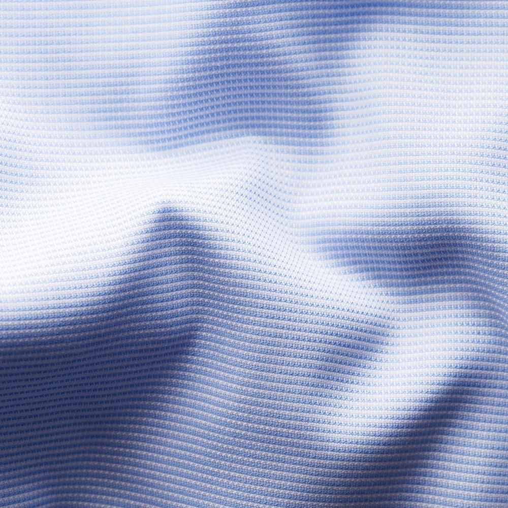Eton shirt light blue and white twill 3