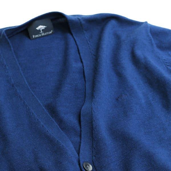 Fynch Hatton navy fabric