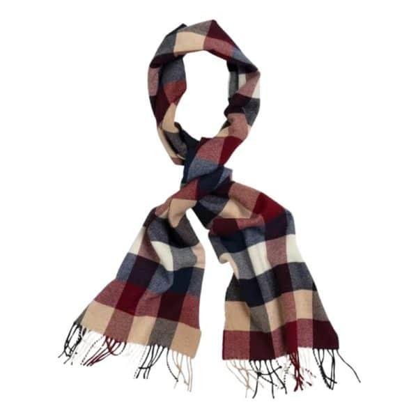 GANT Multi check scarf