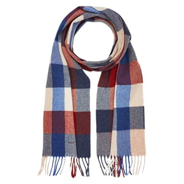 GANT Multi scarf College Blue