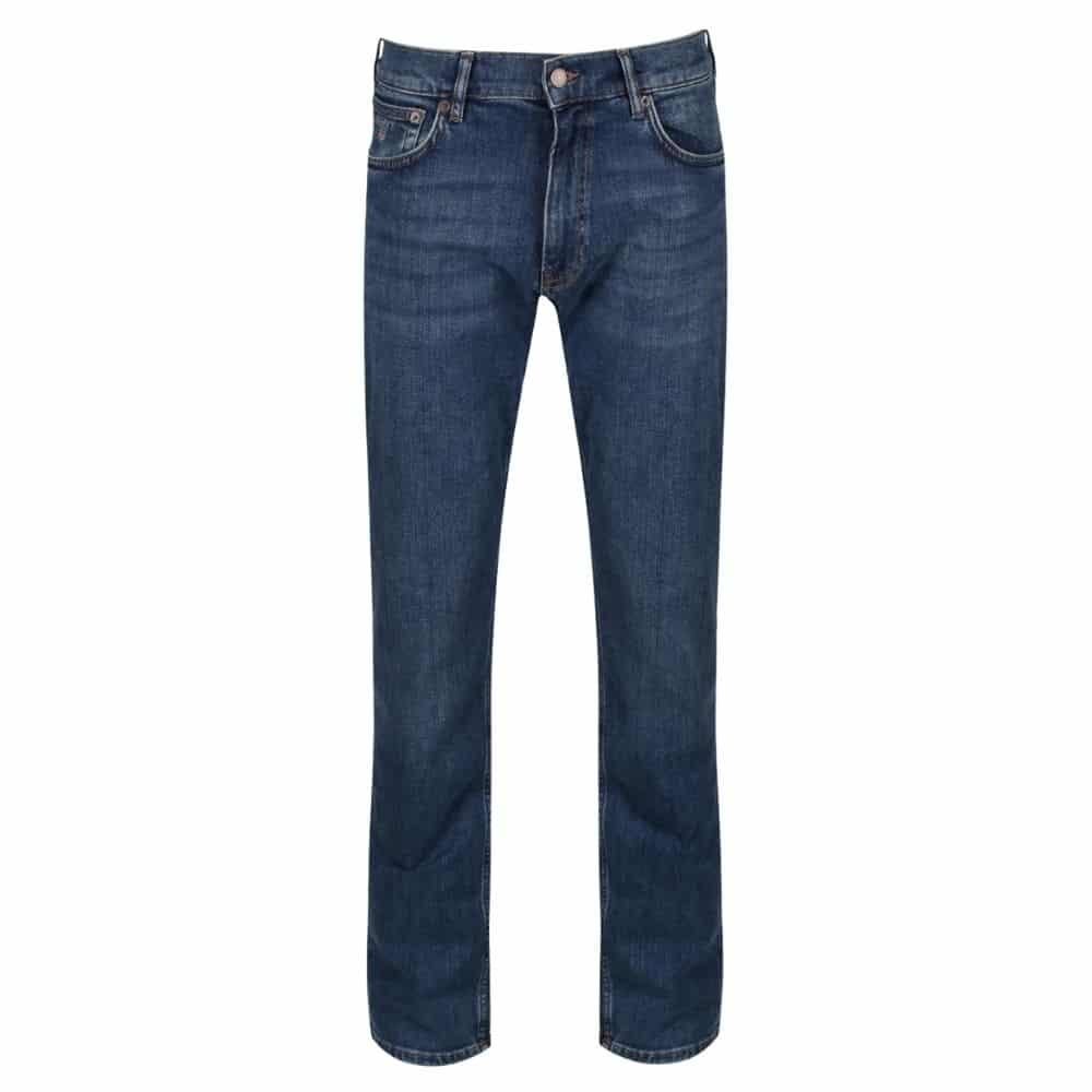 Gant regular fit blue jeans 1