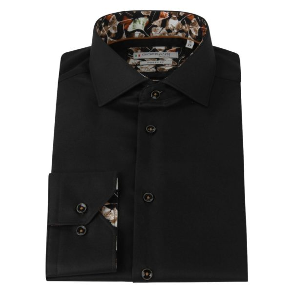 Giordano Black Shirt Front closwed