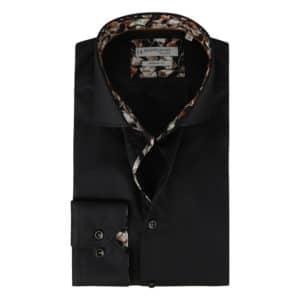 Giordano black long sleeve shirt gingko
