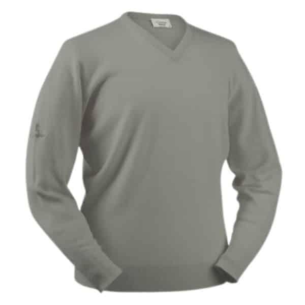 Glenbrae Silver Grey V neck
