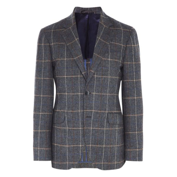 Hackett Herringbone Jacket Front