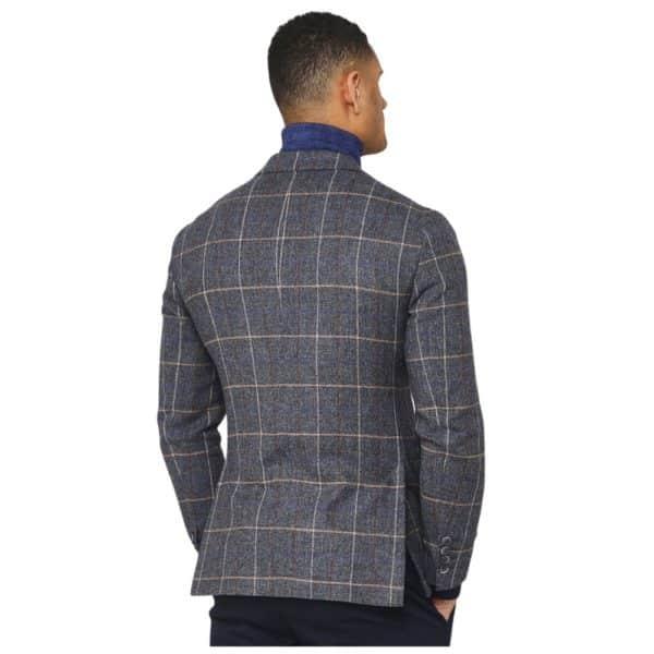 Hackett Herringbone Jacket rear