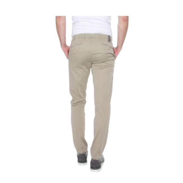 MMX Lupus Beige Stripe Trouser Rear