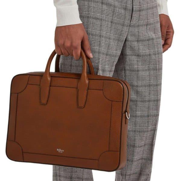 Mulberry Belgrave Single Document Holder Tan model