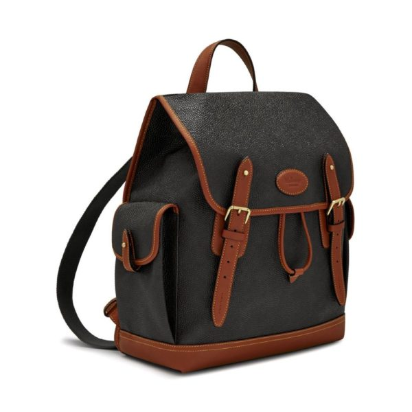 Mulberry Heritage backpack 3 quarter