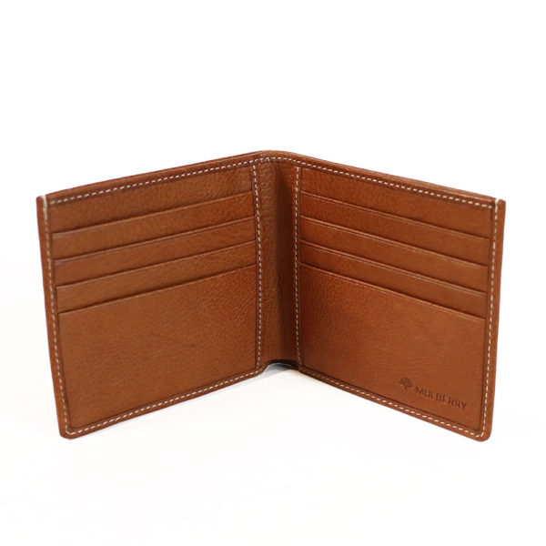 Mulberry wallet open